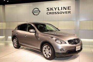Nissan начинает в Японии продажи кроссовера Nissan Skyline Crossover