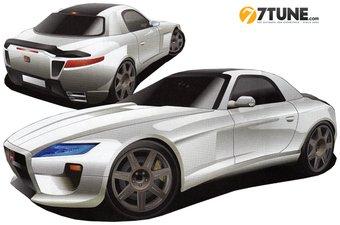 Acura NSX. Изображение из журнала Best Car представлено порталом 7tune.com.