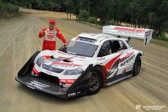 Подготовленный для гонок Suzuki SX4 Sport стал лидером в гонках Pikes Peak International Hillclimb.