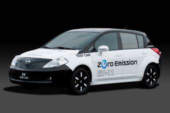 Nissan EV-11, прототип электрокара
