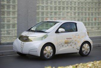 Концепт-кар Toyota FT-EV доберется до конвейера.