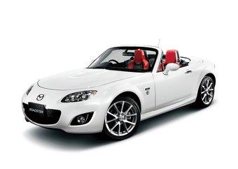 Для жителей Японии компания Mazda подготовила специальную комплектацию спортивного кабриолета Mazda Roadster.