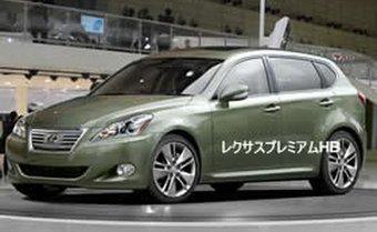 Lexus готовит дебютный показ своей новой модели.