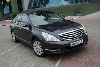 Nissan Teana российской сборки выходит на российский рынок.