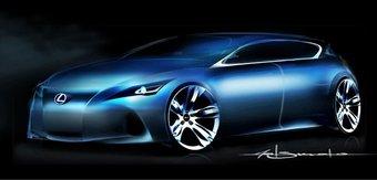 В середине сентября на Франкфуртском автосалоне Lexus представит новую модель.