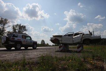 Toyota FJ Cruiser выдержал испытания на дорогах Украины.