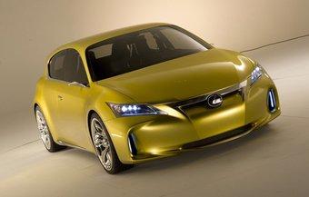 Концепт Lexus LF-Ch. Вид спереди