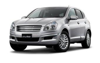 Компания Nissan обновила автомобиль Nissan Dualis. На снимке слева изображена особая комплектация под названием CrossRider.
