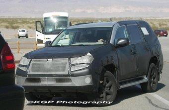 Lexus GX проходит тесты в США.