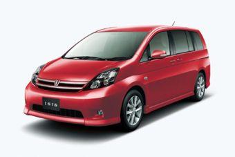 Минивэн Toyota Isis с новой линейкой экономичных моторов дебютирует в Японии.
