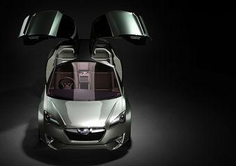 Subaru приготовила для Токийского автосалона гибридный концепт-кар.