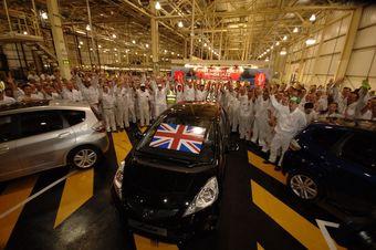 Первые экземпляры Honda Jazz сошли с английского конвейера завода Honda