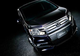 Компания Honda представила в Японии новое поколение минивэна Honda Stepwgn.
