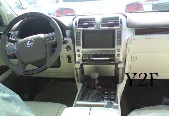 Интерьер Lexus GX нового поколения