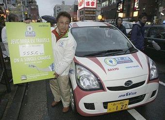 В Японии установлен новый рекорд длительной поездки на электромобиле.