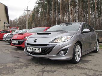 Российская премьера новой Mazda3 MPS.