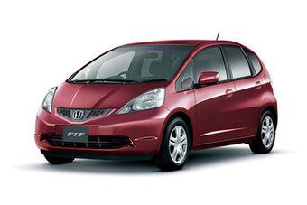Honda Fit прошел малую модернизацию.