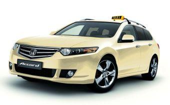 Honda Accord Tourer Taxi Cab
