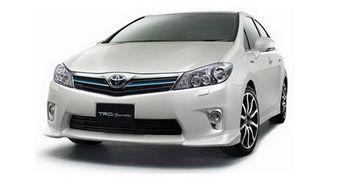 TRD представила комплект аксессуаров для гибрида Toyota Sai.