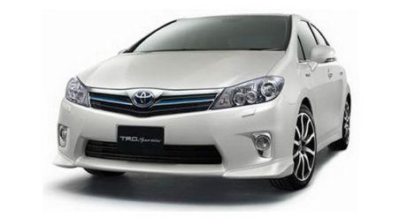 TRD подшаманила экстерьер гибридного седана Toyota Sai