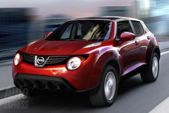 Английское издание Auto Express утверждает, что на снимке представлен серийный вариант кроссовера Nissan Juke.