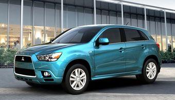 Mitsubishi ASX (RVR) дебютирует в Европе в начале марта текущего года.
