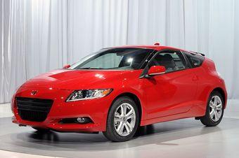 Honda CR-Z будет продаваться в Японии уже в феврале.