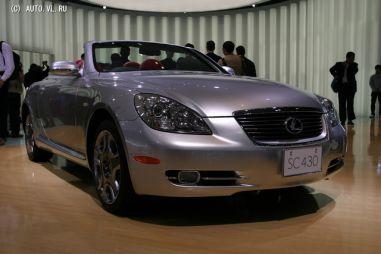 Lexus объявил о завершении производства Lexus SC (Toyota Soarer)