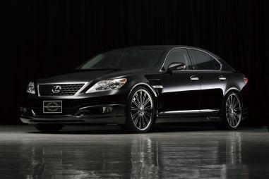 Именитое тюнинг-ателье Wald представило окончательный вартиант Lexus LS M/C after Executive Line