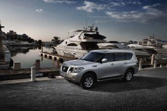 Nissan Patrol нового поколения.