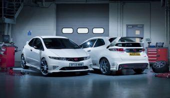 Honda приготовила для своих английских фанатов новую комплектацию Civic Type R. Принципиально нового ничего, просто случай представился!