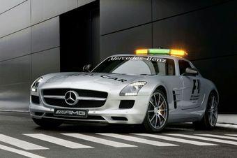 Mercedes-Benz SLS AMG Gullwing Official F1 Safety Car