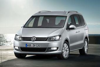 Volkswagen Sharan второго поколения будет показан в Женеве завтра.