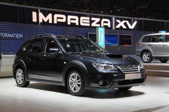 Кроссовер Subaru Impreza XV 2.0D в Женеве.
