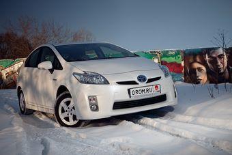 Toyota Prius третьего поколения прошел в финал конкурса «Лучший автомобиль в мире — 2010».