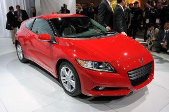 Honda CR-Z показала неожиданно высокие результаты по продажам в Японии.