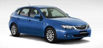 Subaru Impreza провалила тест на эффективность системы стабилизации.