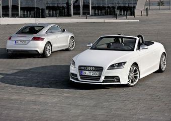 Audi обновила линейку спорт-каров TT