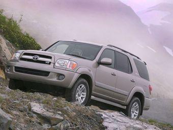 Toyota Sequoia 2003 модельного года плохо разгоняется из-за неправильных настроек системы стабилизации.