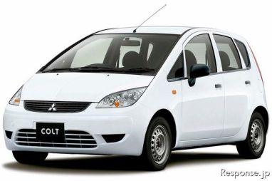 Mitsubishi представила рестайлинговый Colt по сниженной цене