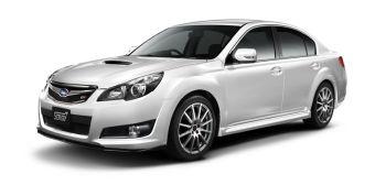 STI выпускает доработанные версии Subaru Legacy Touring Wagon и Subaru Lagacy B4.