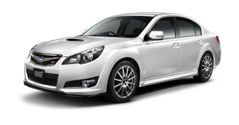 Мастерская STI выпустила собственную модификацию Subaru Legacy