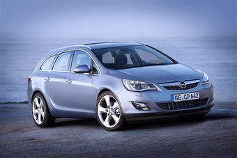 Opel представил Astra Sports Tourer. Официальная премьера модели пройдет в Париже.