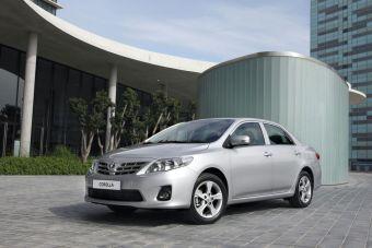 Обновленная Toyota Corolla — от 599000 рублей.