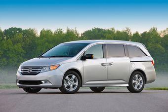 Honda Odyssey нового поколения представлен в США.