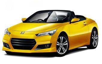 Дизайнерская фантазия на тему нового родстера марки Honda. Изображение из журнала Holiday Auto.