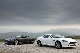 Обновленный Aston Martin DB9
