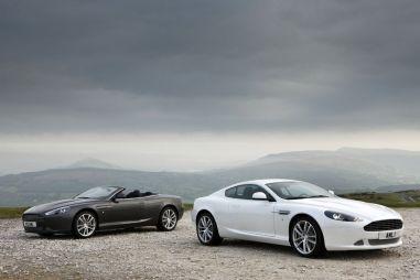Aston Martin представил обновление для DB9