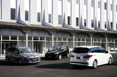 Mazda представила новое поколение Premacy в Японии