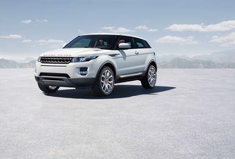 Официальный снимок Range Rover Evoque.